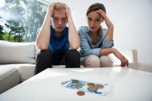Couple not having money