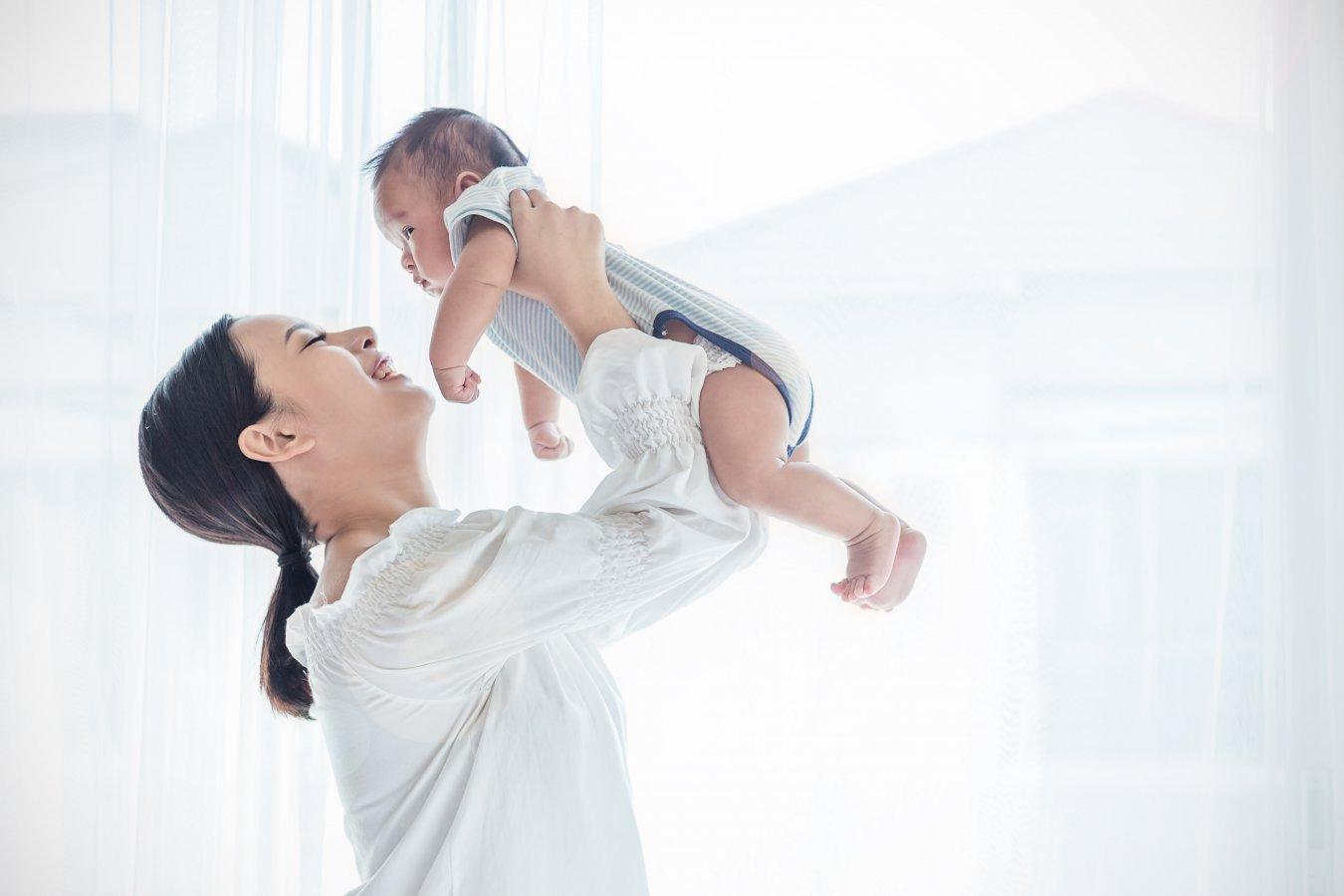 お母さんと赤ちゃん 産後